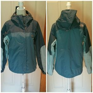 THE NORTH FACE HyVent parka w/hood. Size Med